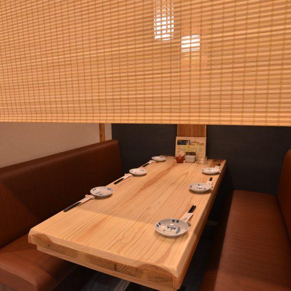 テーブル席3~6名様