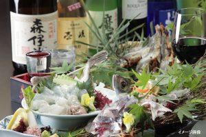 魚が美味しい居酒屋 はち舎